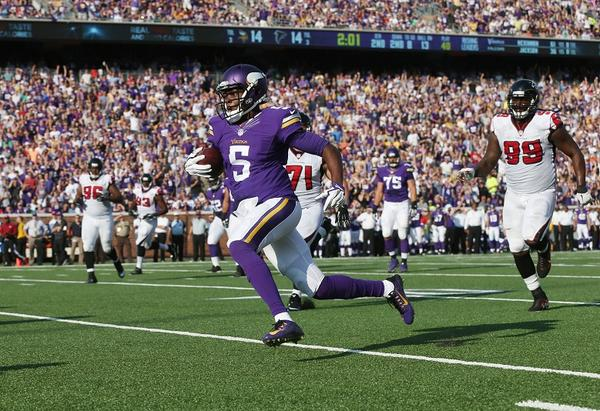 Courtesy of Vikings.com: Teddy Bridgewater was extremely impressive in first NFL start.