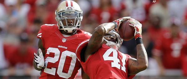 Courtesy of the Associated Press: San Francisco's defense pitched a shutout against the Eagles.