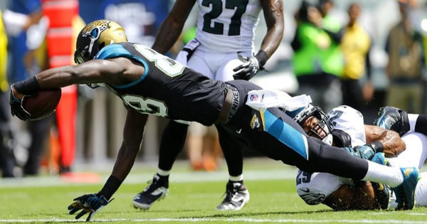 Courtesy of SI.com: Allen Hurns and the Jaguars need a complete performance to gain momentum.