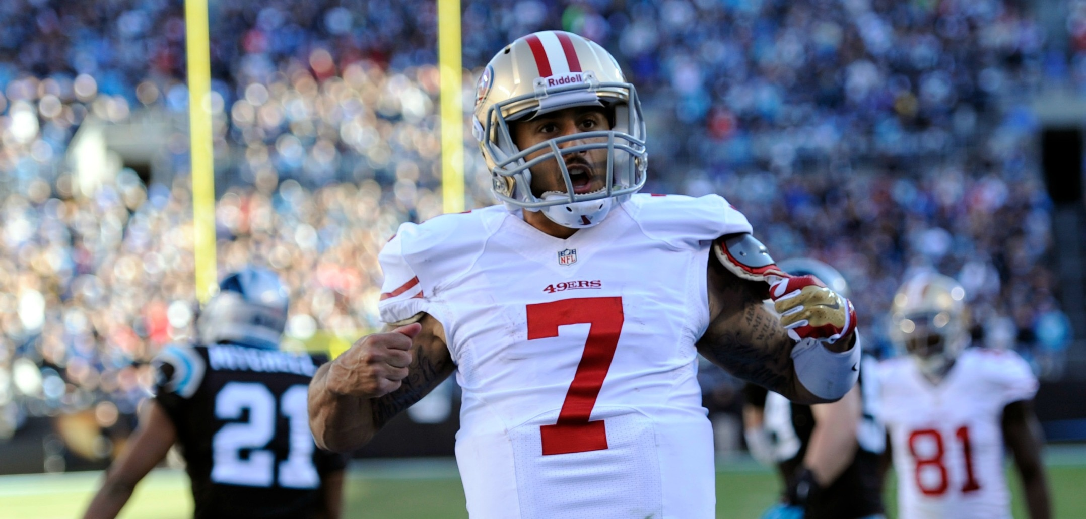 Courtesy of CSN Bay Area: Expect another huge Week 1 performance from Kaepernick