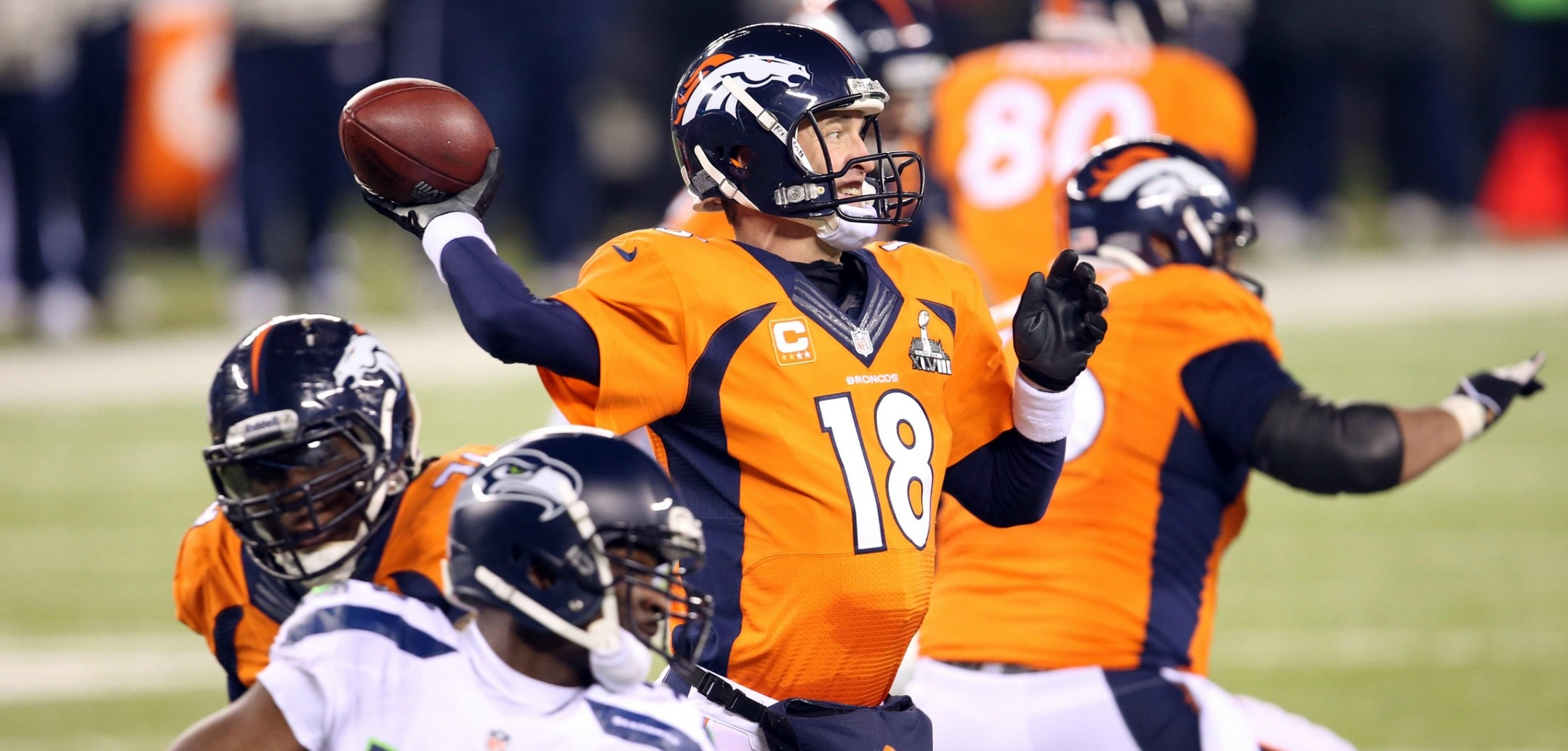 Courtesy of USA Today: Manning looks to rebound in his first meaningful game since the Super Bowl.