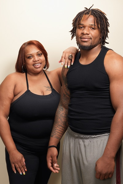 Courtesy of ESPN.com: Burfict pictured with his mom.