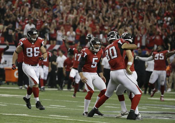 Huge win for the Falcons on Sunday.