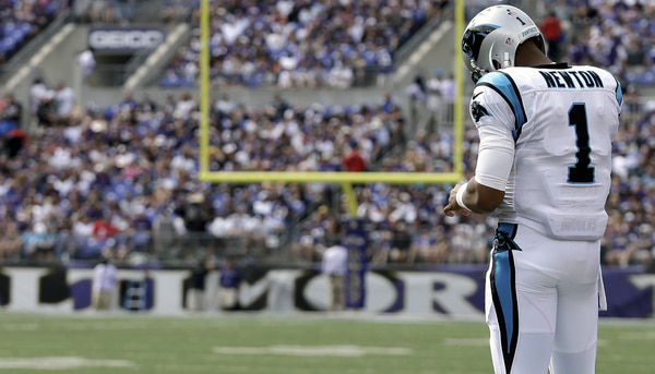 Courtesy of Panthers.com: Skeptic can't point their finger at Cam Newton this time.