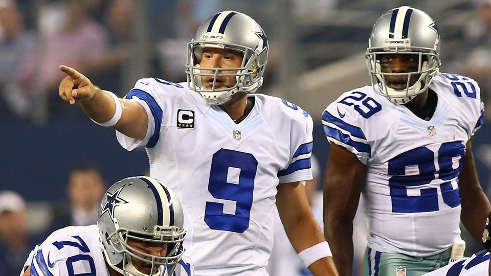 Courtesy of Getty: Can Romo and Co. find that rare four-game winning streak?
