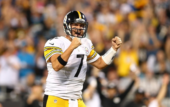 Courtesy of Zimbio: Look for a rebound performance from Big Ben and the Steelers on Sunday.