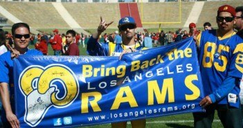 Report: Rams Considered Favorites to Move to Los Angeles