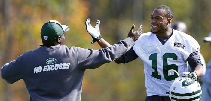 Michael Vick: Harvin Won't be a Monster Here