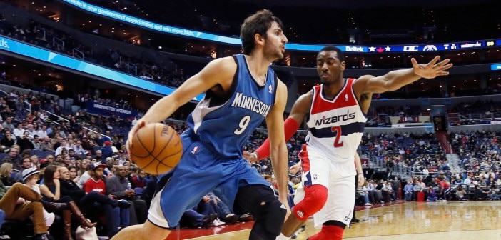 Timberwolves Sign Ricky Rubio to $55 Million Extension