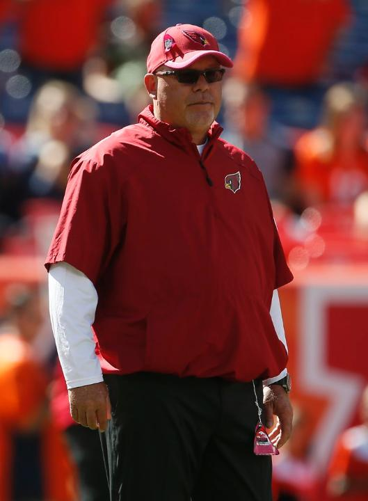 Courtesy of AZCardinals.com: Unfortunately for Arians and Co., they had to turn to a rookie QB in Denver.