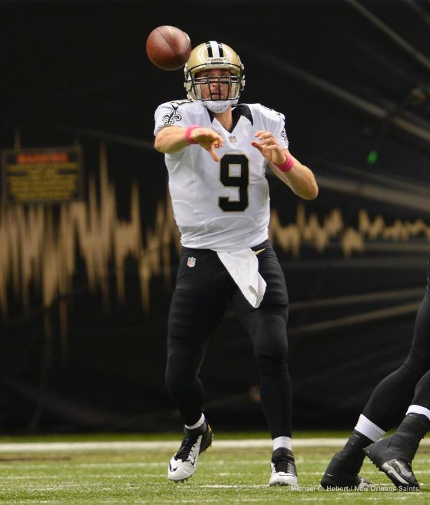 Courtesy of Saints.com: They might have won, but there are issues on both sides of the ball for the Saints.