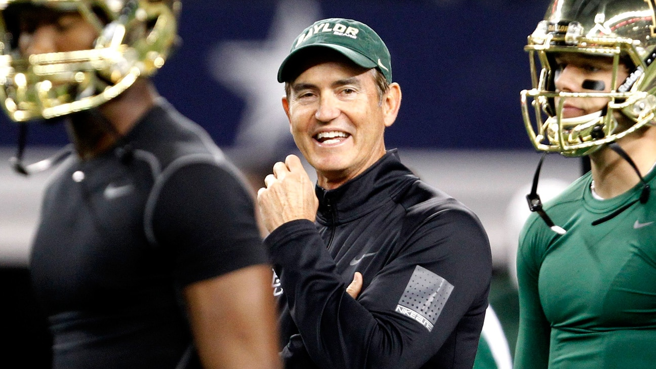 Courtesy of ESPN: Briles is one of the most respected offensive minds in the entire football world.