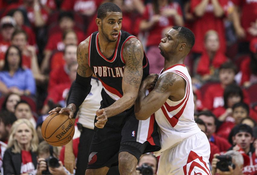 Aldridge and the Blazers may end up on top of the Western Conference in '14-'15. Courtesy ripcityproject.com
