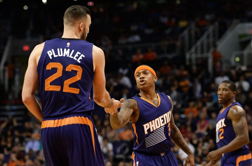 Isaiah Thomas brings his quickness and scoring abilities to Phoenix. (courtesy - valleyofthesuns.com)