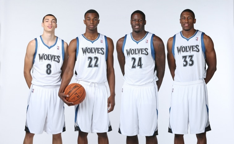 The Wolves have a young core they hope is the foundation of their franchise for years to come. (courtesy - northpolehoops.com)