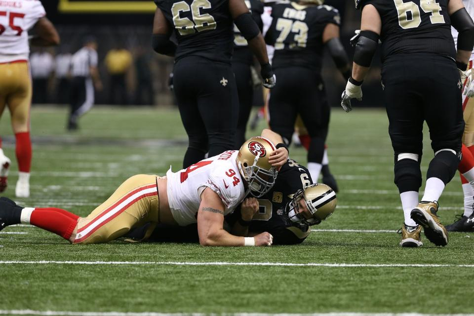 Courtesy of 49ers.com: Will the NFC South pick itself up from the turf?