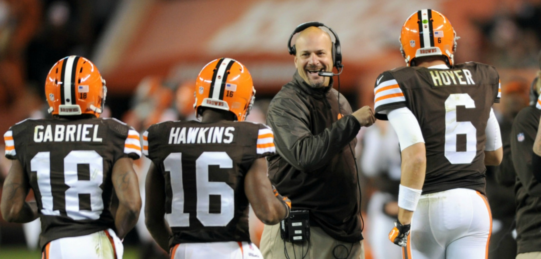 Courtesy of USA Today: Mike Pettine has his team playing great football.