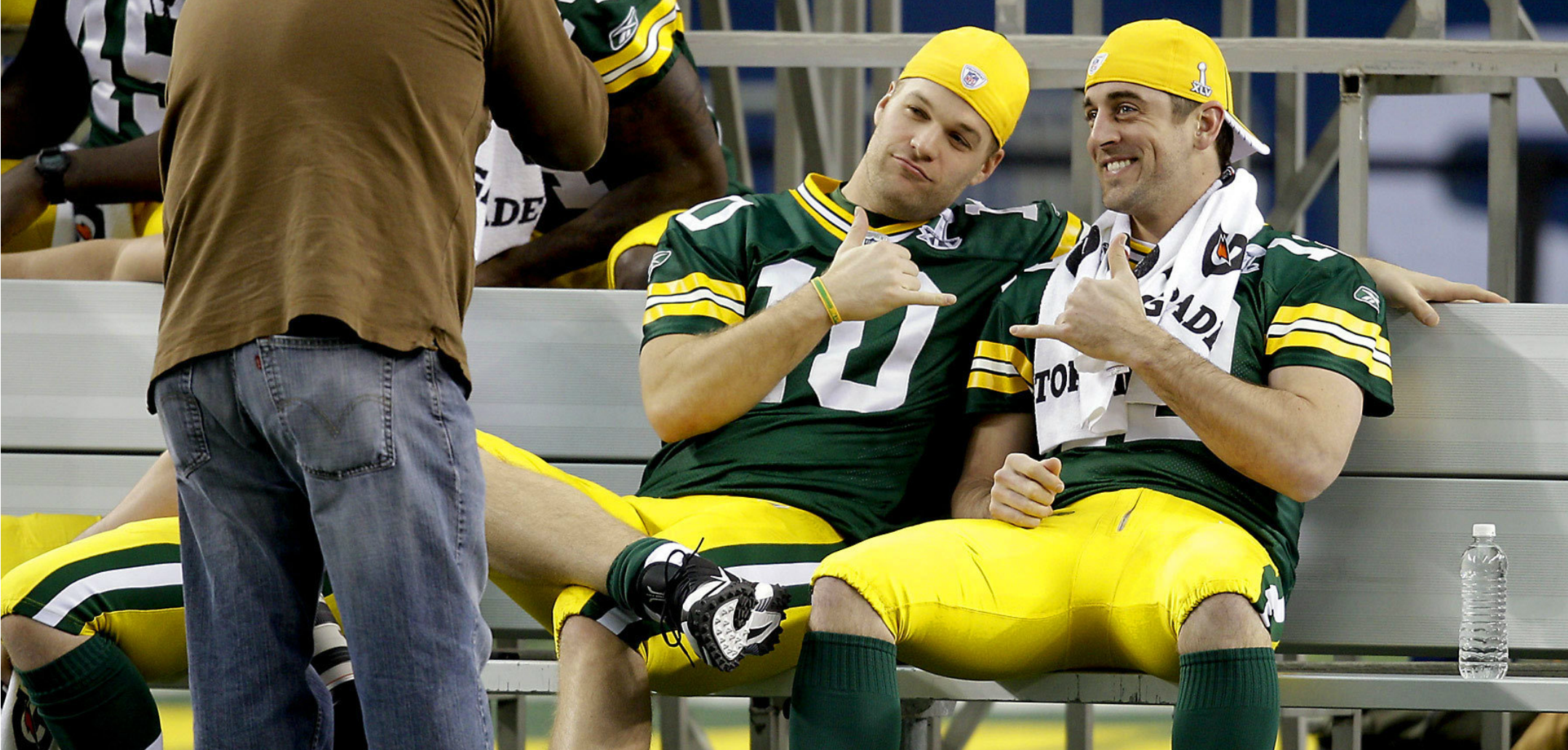 Aaron Rodgers Gifted Packers Backups Thongs for Christmas