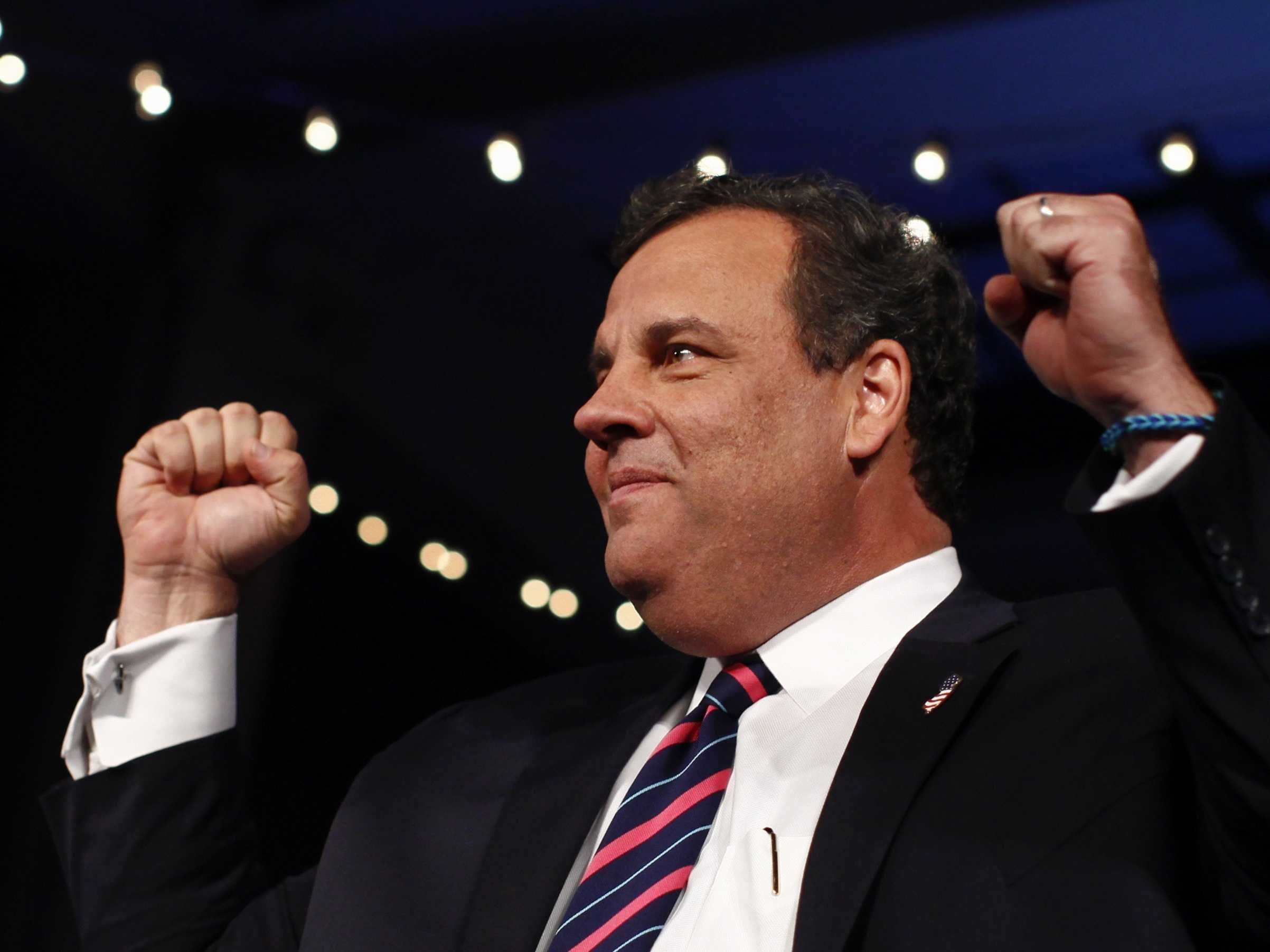 Christie Says He Was 'Very Restrained' When He Confronted Cubs Fan