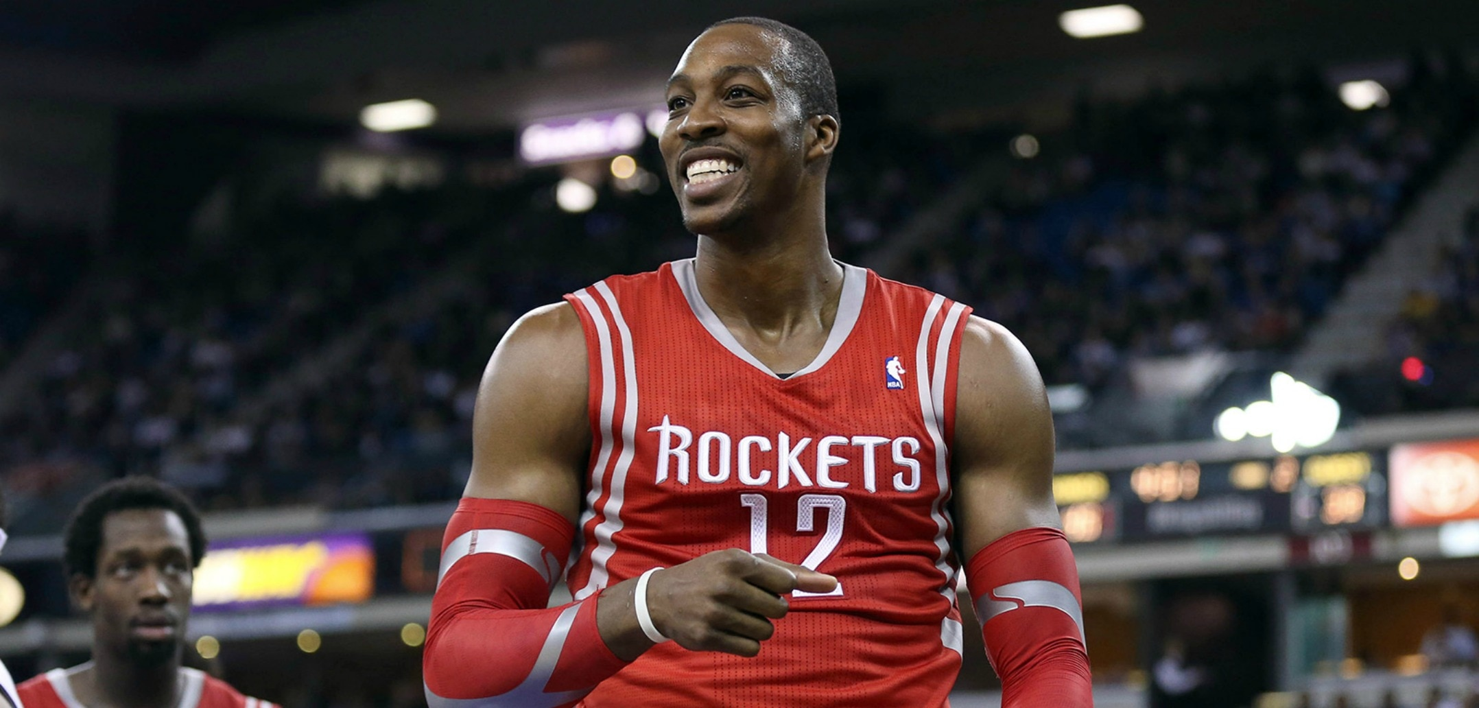 Courtesy of USA Today Images: Dwight Howard will play an important role in Houston's playoff run.