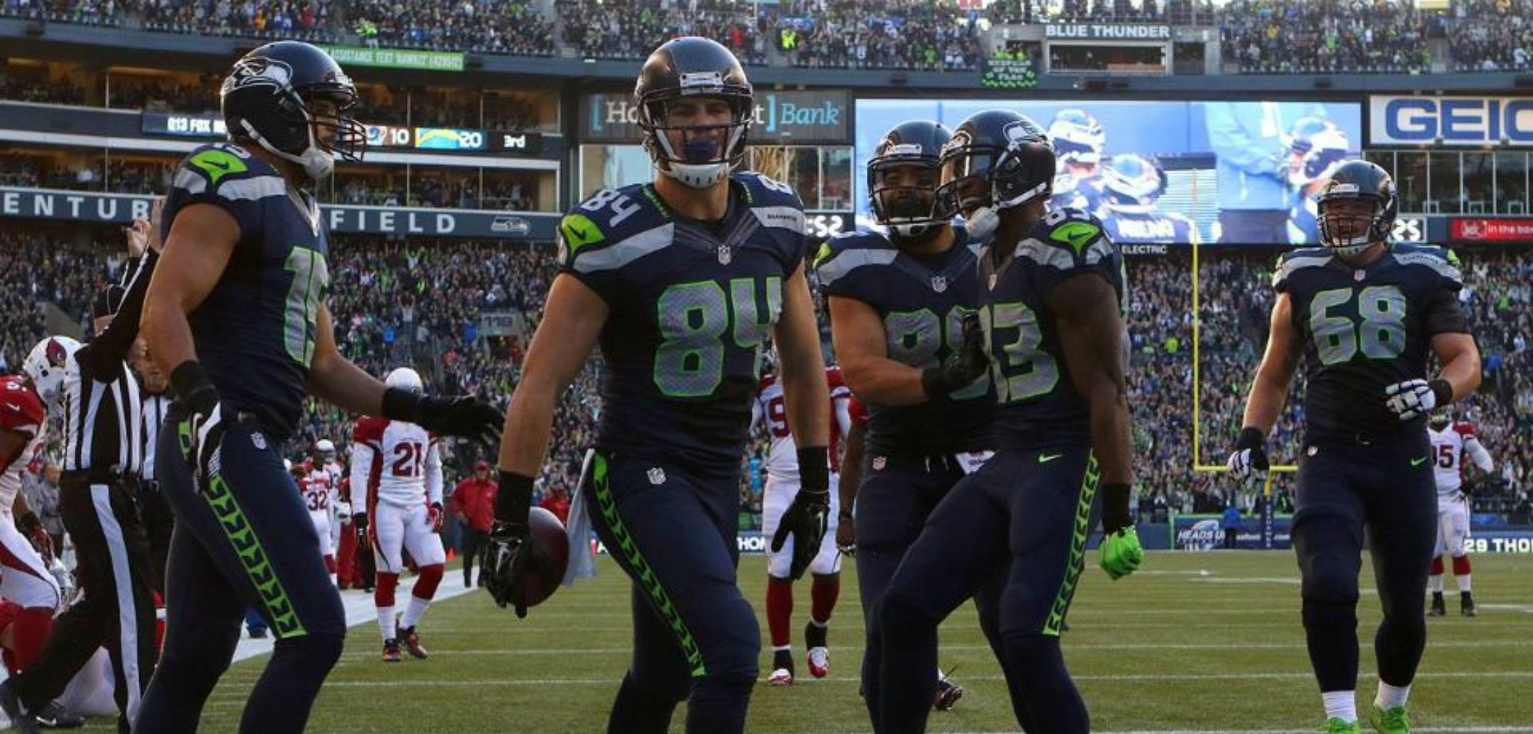 Courtesy of Seahawks.com: Seattle may have saved its season with a win over Arizona on Sunday.