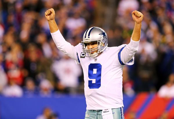 Courtesy of ESPN.com: Romo's clutch performance kept Dallas in a tie for first.