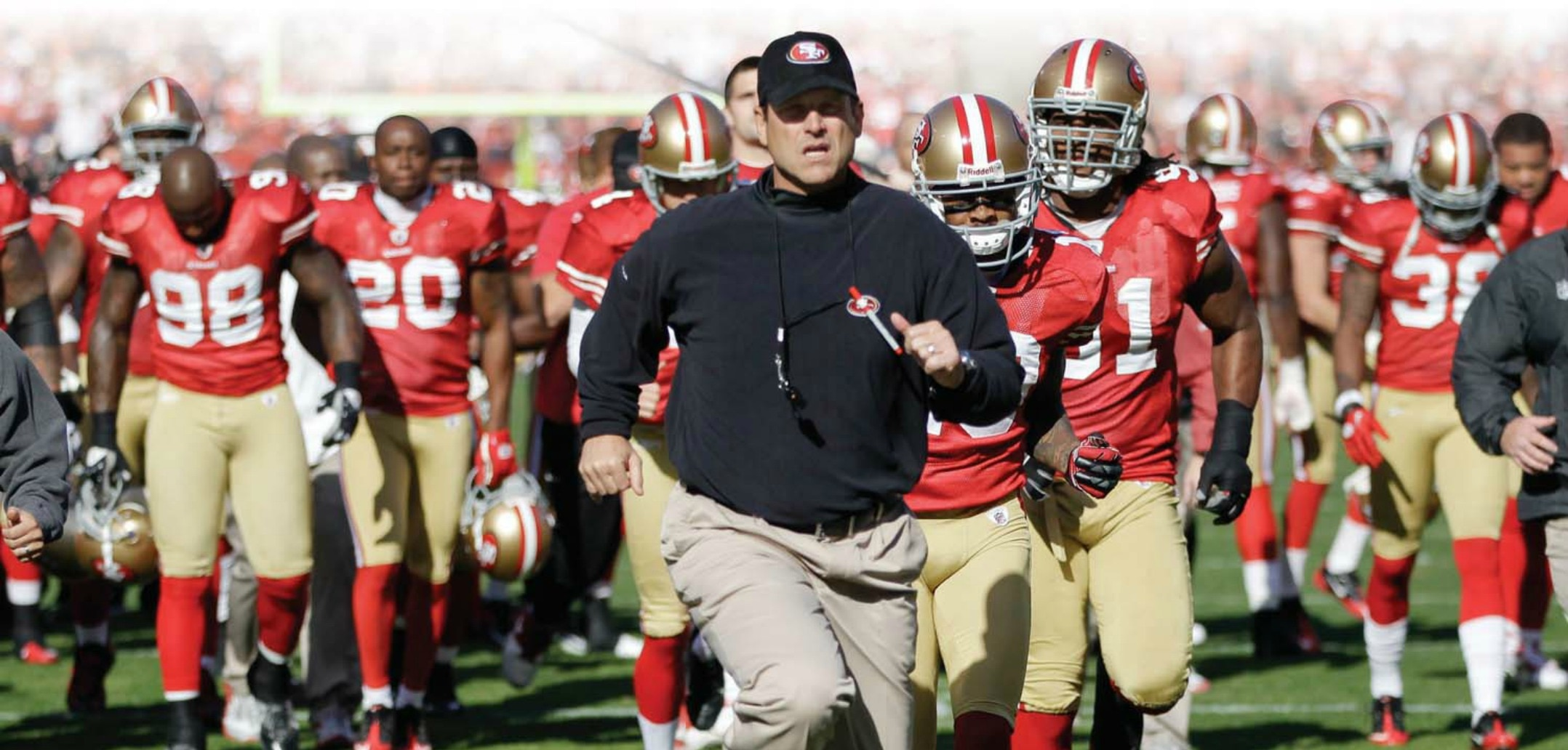 Courtesy of NFL.com: Things were different, but in the some way the same, the first time Harbaugh led San Francisco against the Seahawks.