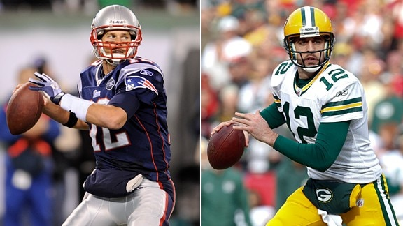 Courtesy of ESPN.com: The two best teams and the two best quarterbacks in the NFL will square off on Sunday.