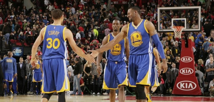 Warriors Starting Five Destroying the Rest of the NBA