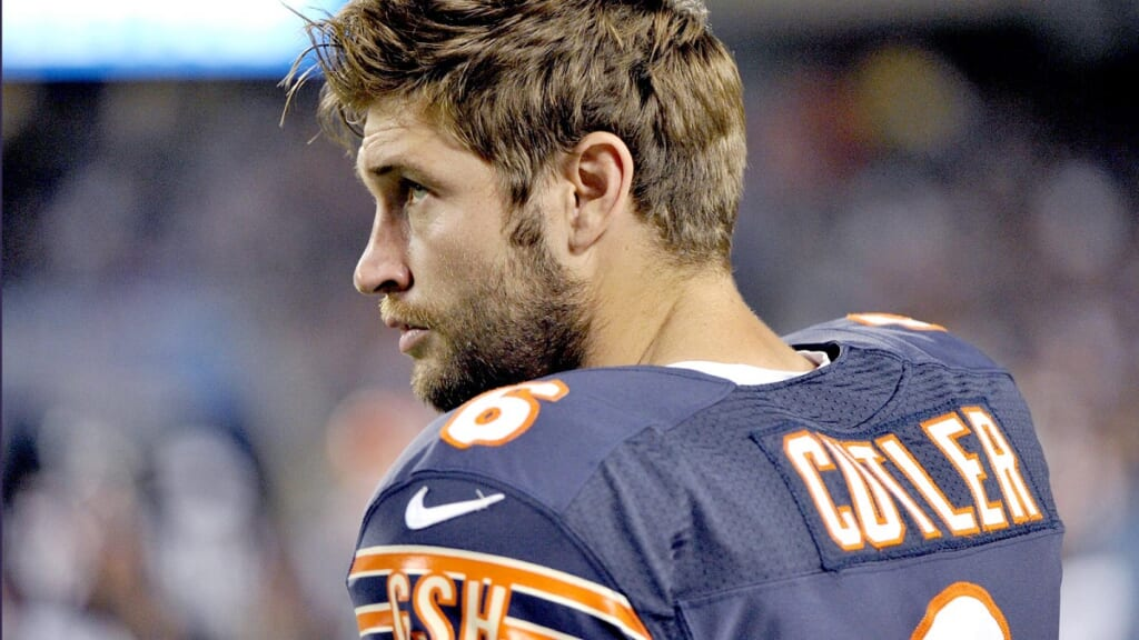 Jay Cutler of the Chicago Bears - Photo:  Rob Grabowski-USA TODAY Sports