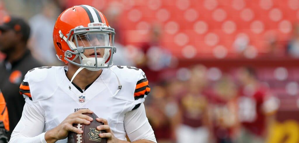 Courtesy of USA Today Sports: Manziel's taken the first step to recovery on and off the field.