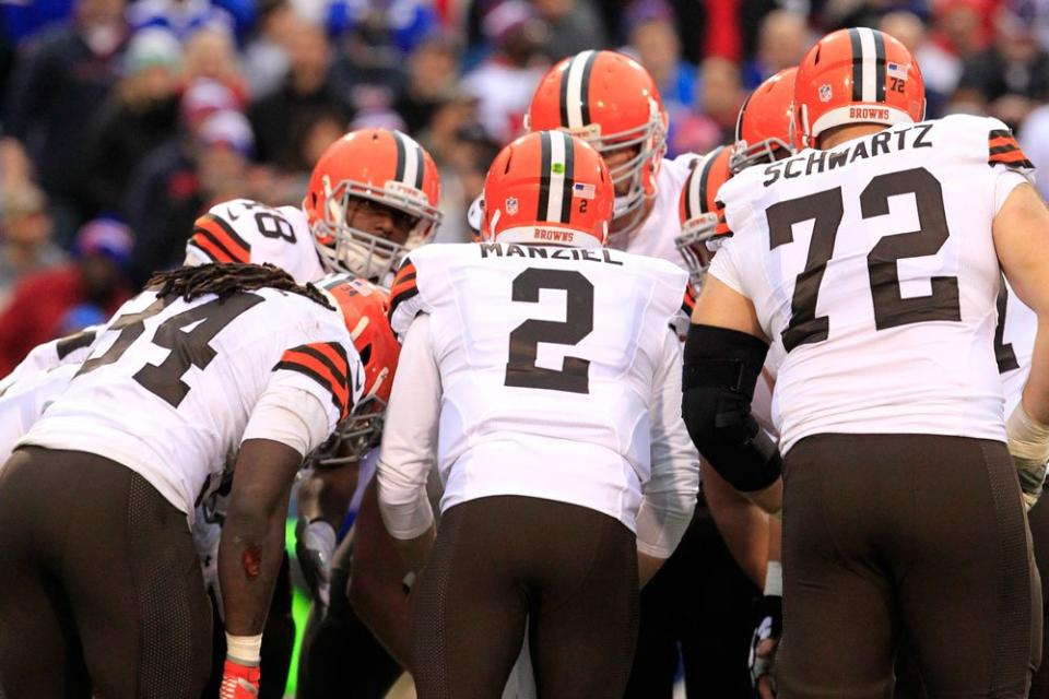 Courtesy of ClevelandBrowns.com: Manziel may in fact be the starter in Cleveland from here on out.