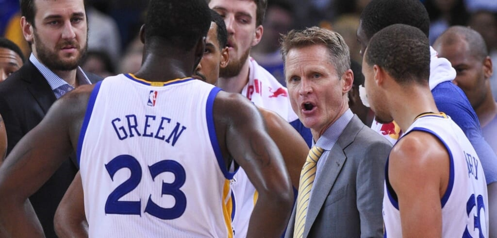 Courtesy of USA Today Sports: Teams cant be fooled into believing Kerr's success is normal.