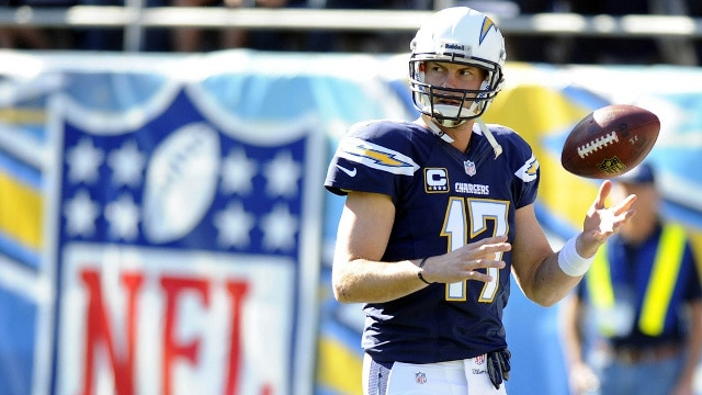 Courtesy of USA Today: Rivers needs to up his game for the Chargers to make the playoffs.