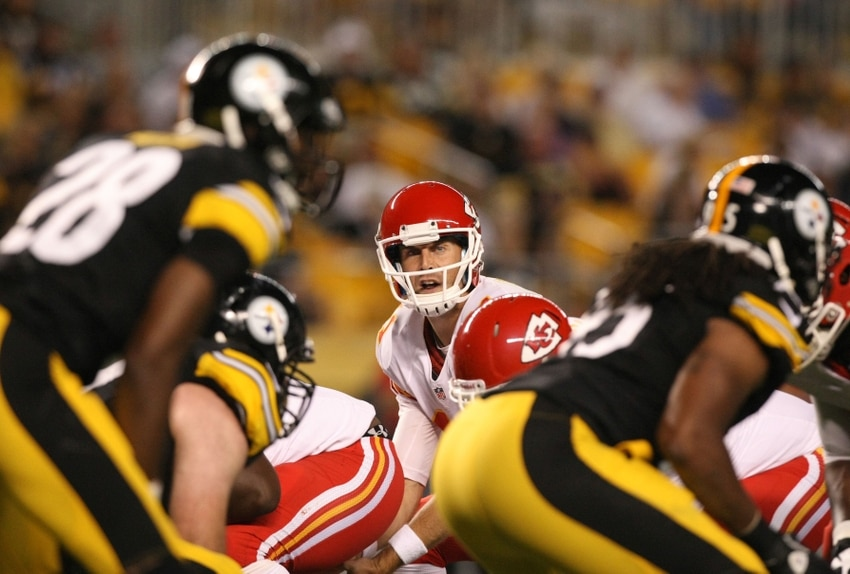 Courtesy of USA Today: This matchup amounts to a playoff game for Pittsburgh and Kansas City.