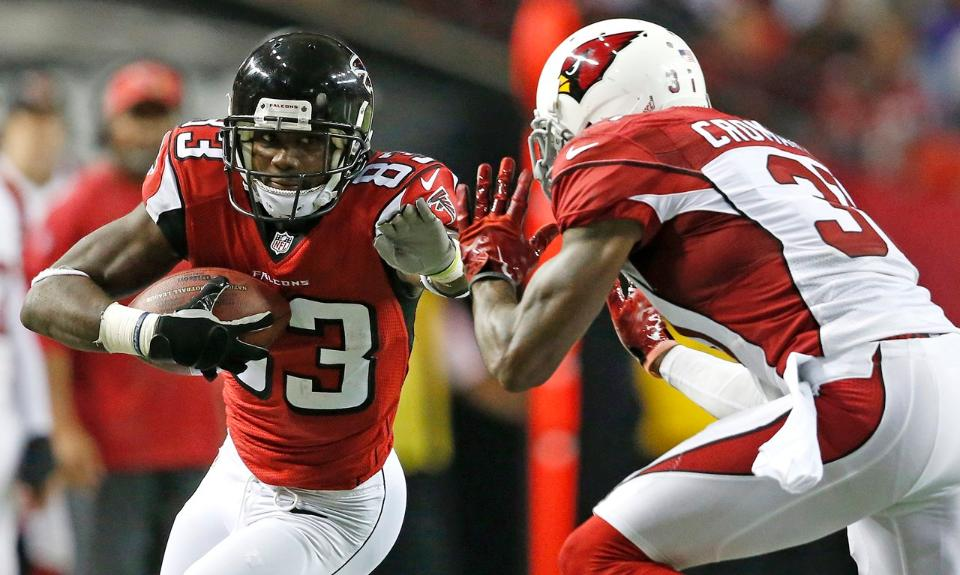 Courtesy of AtlantaFalcons.com: By virtue of their win against the Cardinals, the Falcons remain in first in the NFC South.