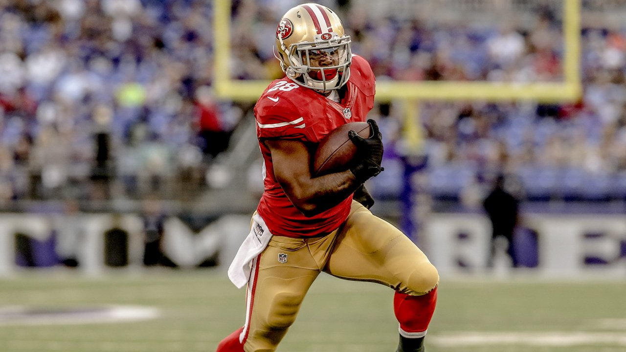Courtesy of 49ers.com: San Francisco's ground attack will be in good hands with Carlos Hyde.