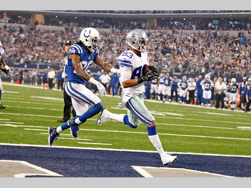 Courtesy of DallasCowoys.com: Dallas laid the wood against a good Colts team on Sunday.