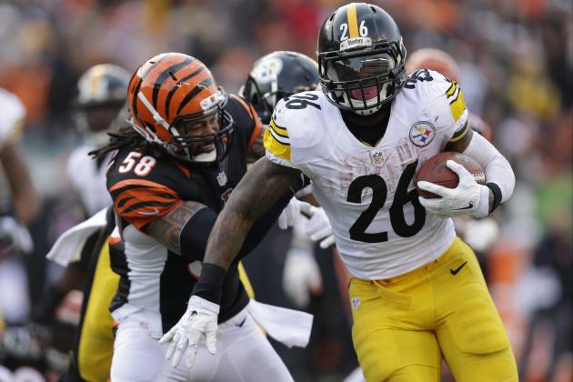 Courtesy of USA Today: No matter what happens Monday night, Cincinnati and Pittsburgh will play for AFC North title next week.