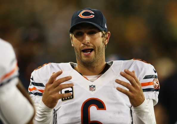 Courtesy of Zimbio.com: THIS guy was supposed to be the Bears franchise quarterback.