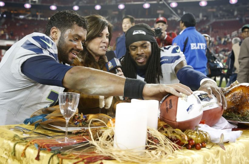 Courtesy of USA Today: Will Richard Sherman and the Seahawks be feasting on Eagle come Sunday?
