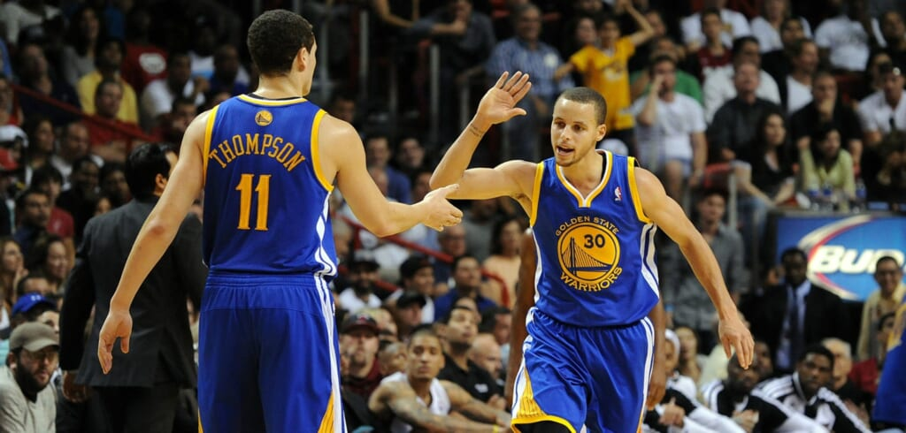 Courtesy of USA Today Sports: Much like it did for the Splash Brother, a focus on ball movement will help New Orleans backcourt.
