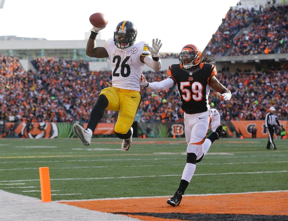 Courtesy of Steelers.com: Le'veon Bell and Co. were riding high on Sunday.