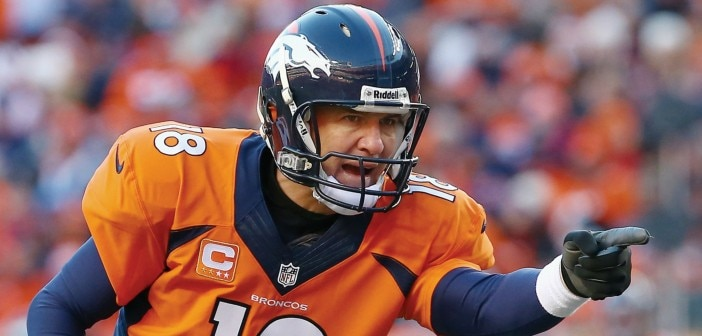 Peyton Manning Departs Practice Early for Thigh Treatment