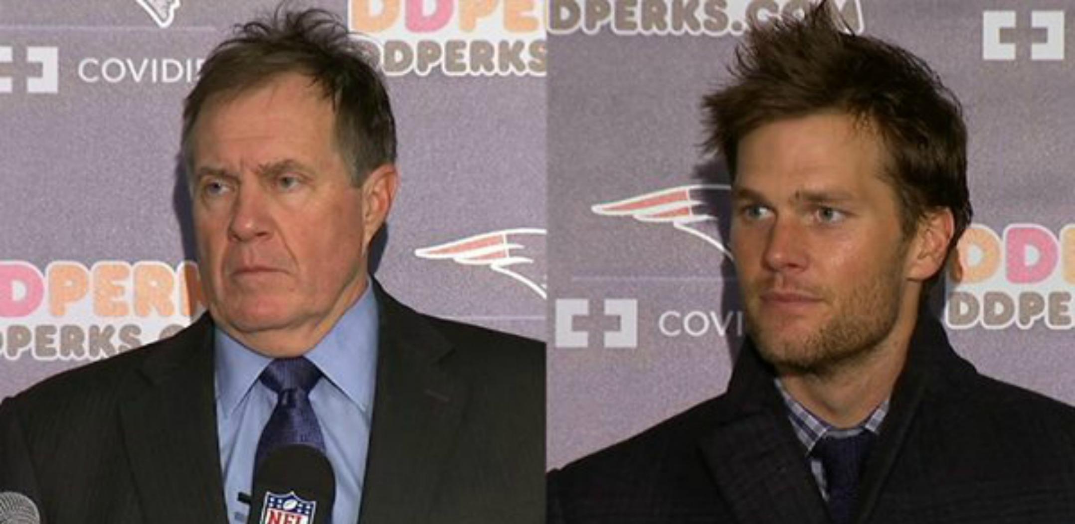 Photo Tom Brady And Bill Belichick Sport Matching Hair Styles
