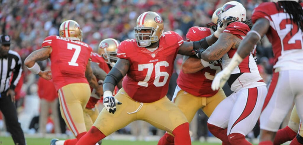 The 49ers need a backup plan in case Anthony Davis sustains another injury.