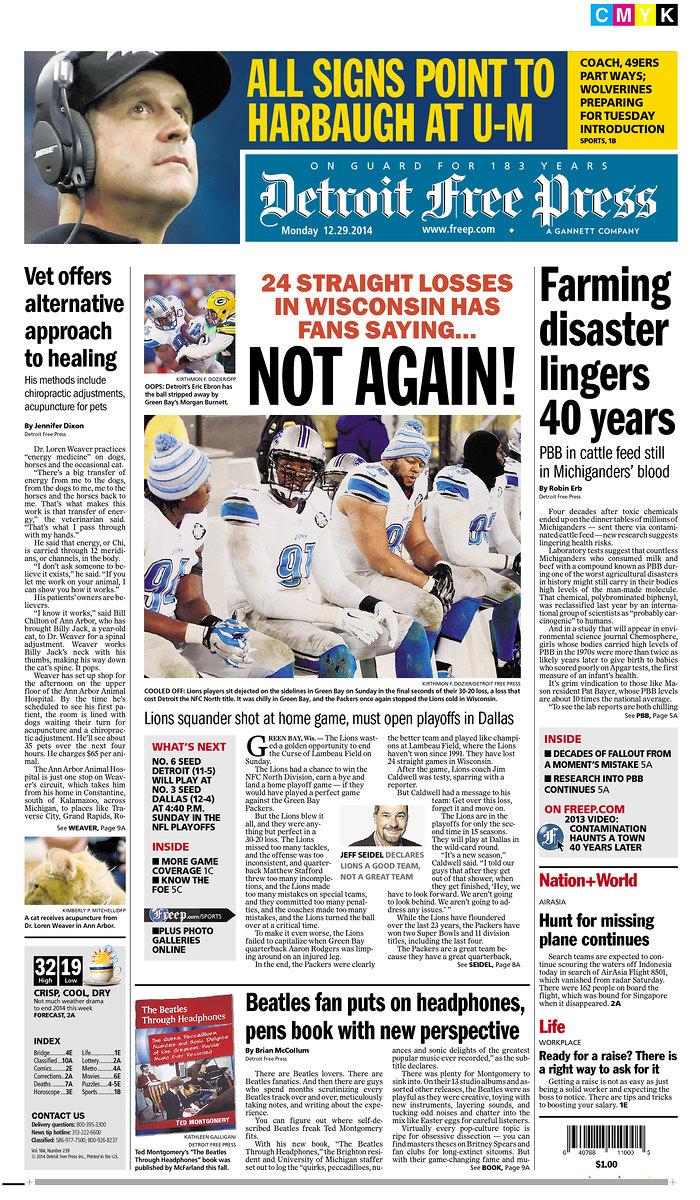 photo courtesy of Detroit Free Press