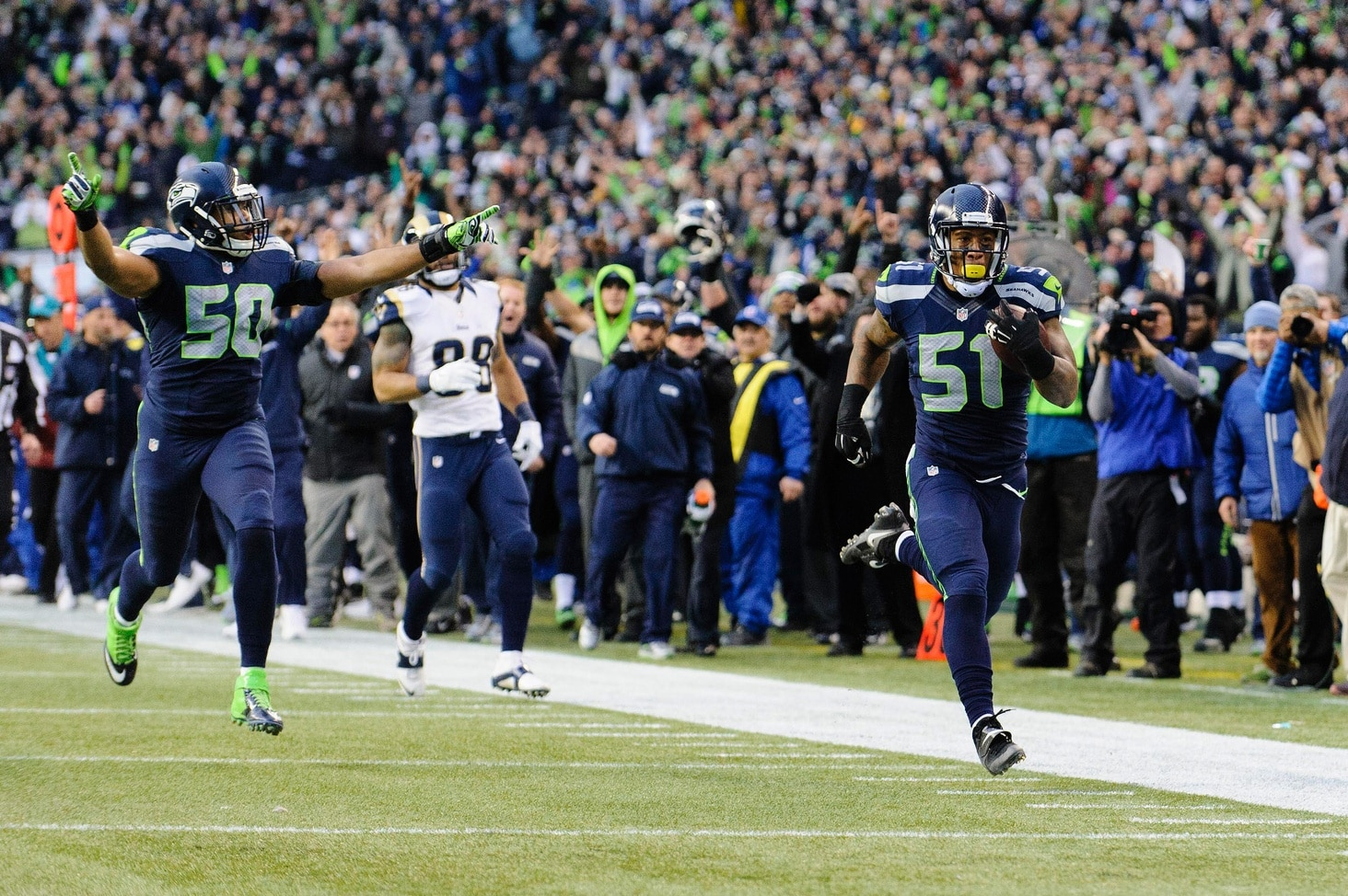 Courtesy of USA Today: Seattle has to be considered favorites to win a second straight title.