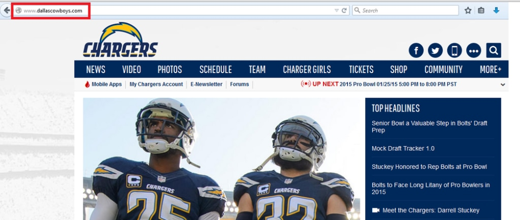 Something Isn T Right With The Dallas Cowboys Website