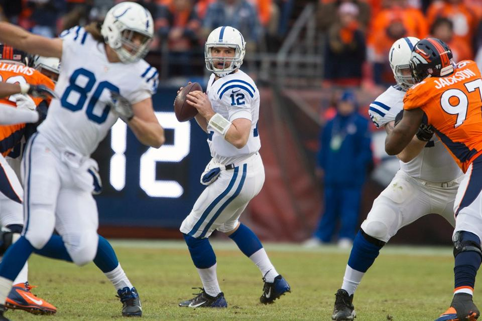 Courtesy of Colts.com: Sunday's win defined Luck's progression from young QB to grizzled veteran.